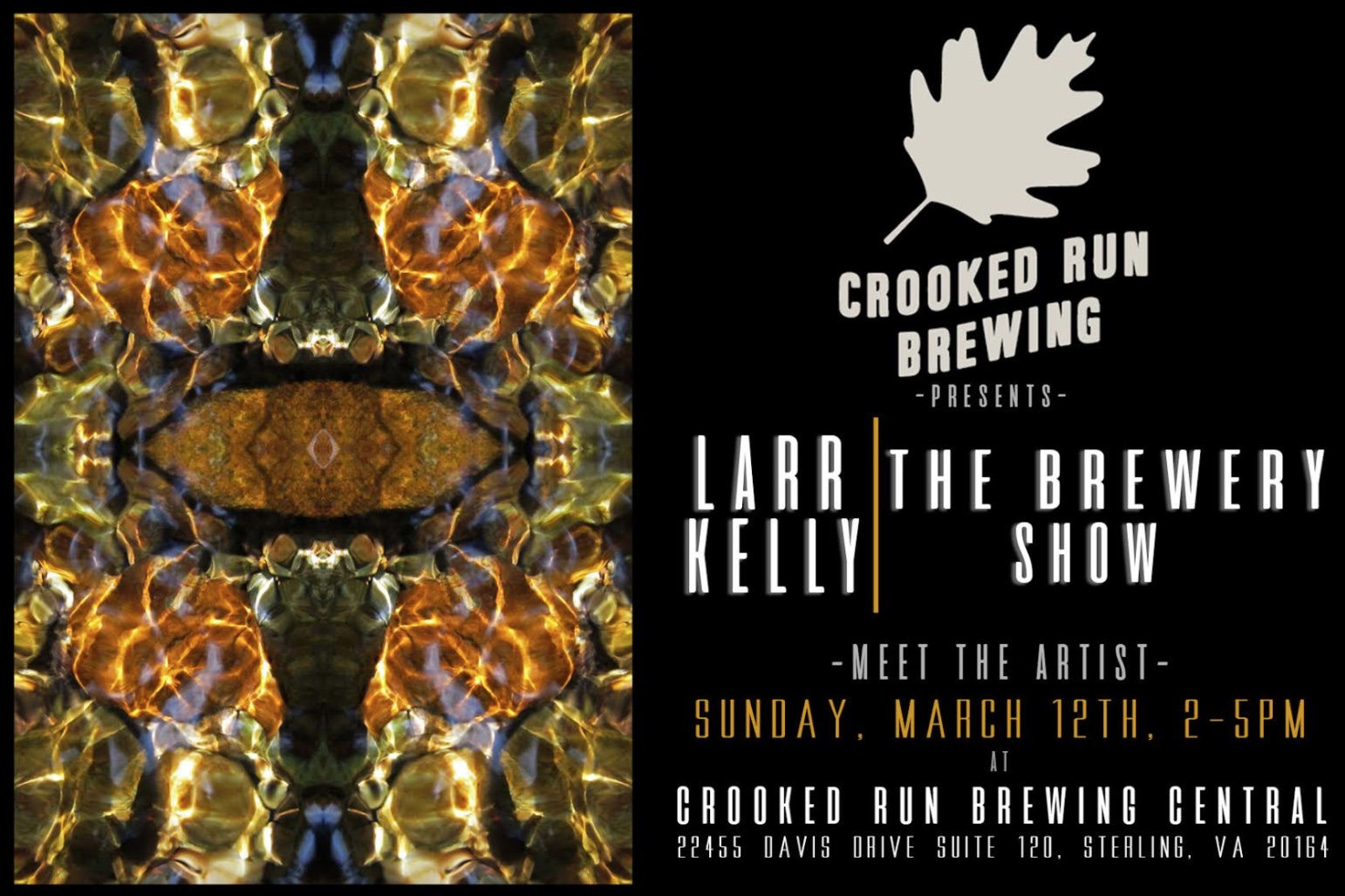 Crooked Run Brewing Presents Larr Kelly